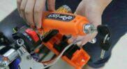 Kunci Tambahan Untuk Pengaman Motor