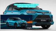 Spesifikasi Toyota Raize